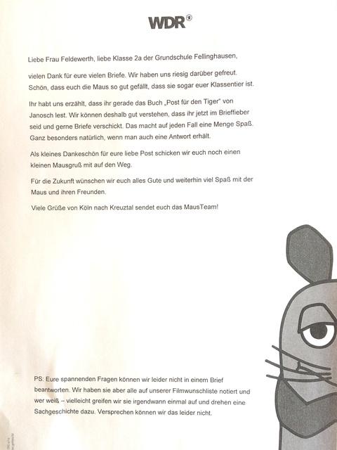 Kinderbriefe Schreiben : Projekte aus den klassen « schulleben grundschule